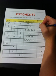 free lesson on basic exponents