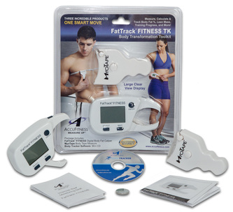 fattrack fitness tk package digital body fat caliper