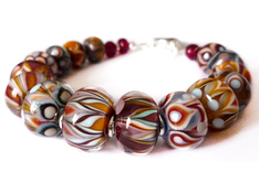 Liz Bowden Beads - Signature Glass Bead Bracelet
