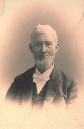 Photo of Pastor David Wirt, 1893. Kenwood Community Church. Kenwood, California.