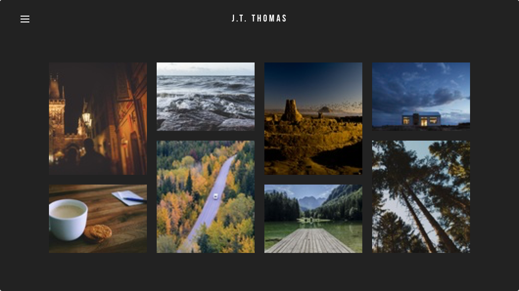 Create a photography website or portfolio for Weebly templates for photographers