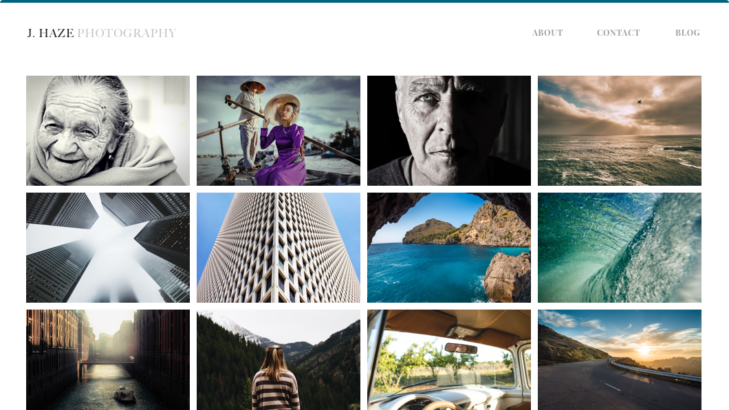 Create a Photography Website or Portfolio - Weebly.com