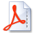 Icon of PDF download.